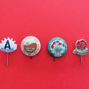 Australian ANZAC Badge Set