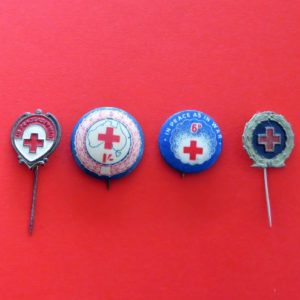 Australian Red Cross Badge Set