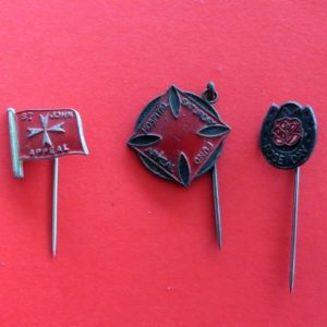Australian Charity Badge Trio