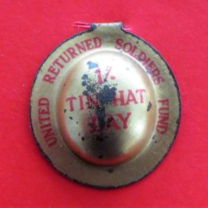 Australian Tin Hat Day Badge
