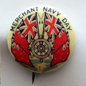 Australian Merchant Navy Day Badge