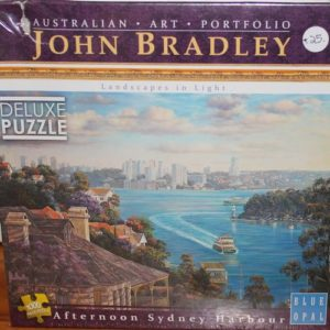 Afternoon Sydney Harbour Jigsaw – John Bradley