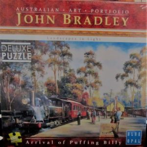 Arrival of Puffing Billy Jigsaw – by John Bradley