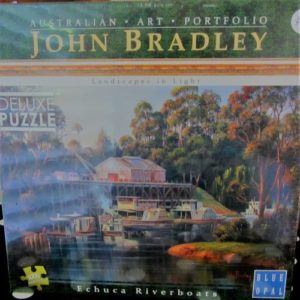 Echuca Riverboats Jigsaw – by John Bradley