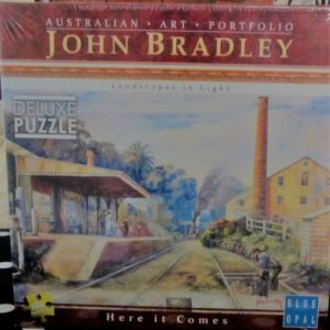 Here it Comes jigsaw – by John Bradley