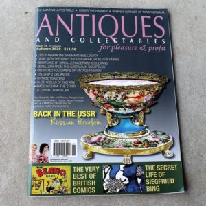 Antiques for Pleasure & Profit Magazine – Autumn 2020