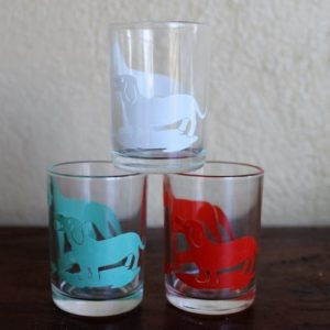 Swanky Swig Sample Size Trio Glasses – Dogs
