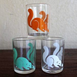 Swanky Swig Glass Set – Sample Size (Squirrels)