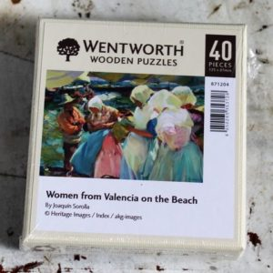 women from valencia on beach joaquin sorolla morpeth gift gallery hunter valley wentworth wooden jig saw puzzle timber master great painters artist made in great britain