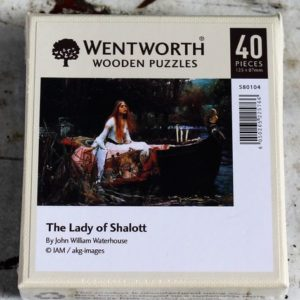 Jigsaw Puzzle – The Lady of Shalott