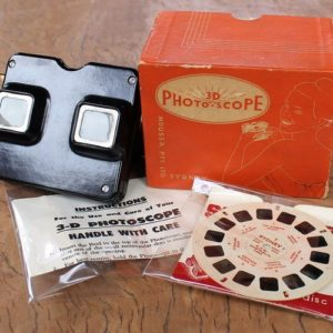 morpeth antique centre hunter valley 3D photoscope moussa pty ltd sydney slide reel viewmaster bakelite