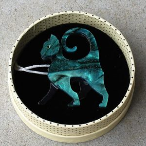 Erstwilder Brooch – On the Prowl (Cat)