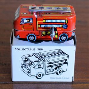 Mini Fire Engine, 6cm