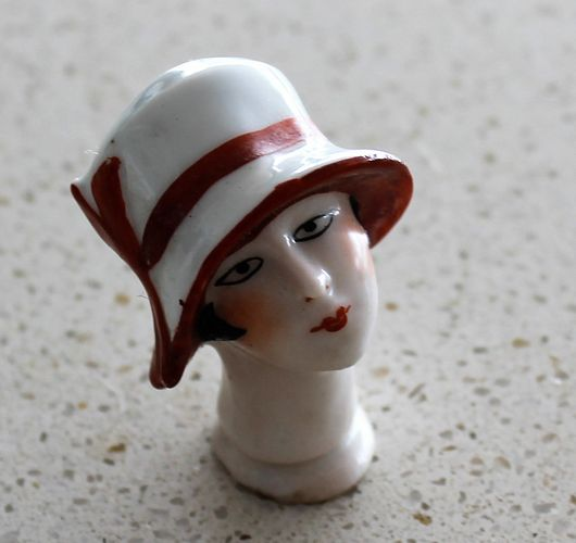 morpeth antique centre hunter valley half doll head ceramic china