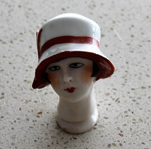 morpeth antique centre hunter valley half doll head ceramics deco
