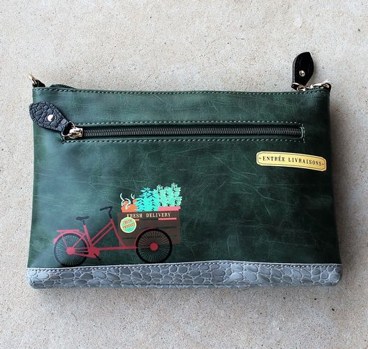 morpeth gift gallery hunter valley vendula hand bag tote grab coin purse pouch cosmetic clip epicerie stationery stationary hobo vintage green brown