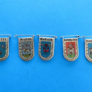 German Badge Set – City Coat of Arms