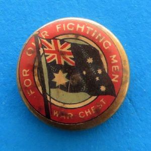 morpeth antique centre hunter valley australian ANZAC badge tinnie pin world war one two ACF legacy SA salvation army allies appeal day russia china poppy tin hat day red cross