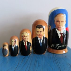 Matryoshka Doll – Russian Presidents