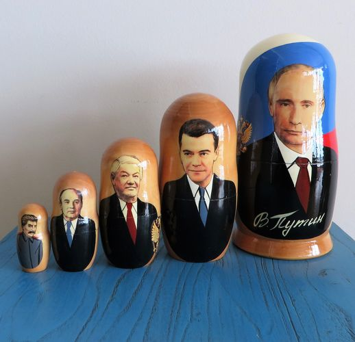 morpeth gift gallery hunter valley matryoshka dolls babushka nesting russian made set five ten hand vladimir putin painted mother's day
