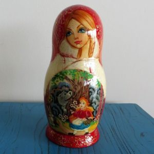 Matryoshka Doll – Red Riding Hood