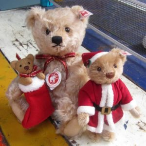 Mr Clause Christmas Teddy