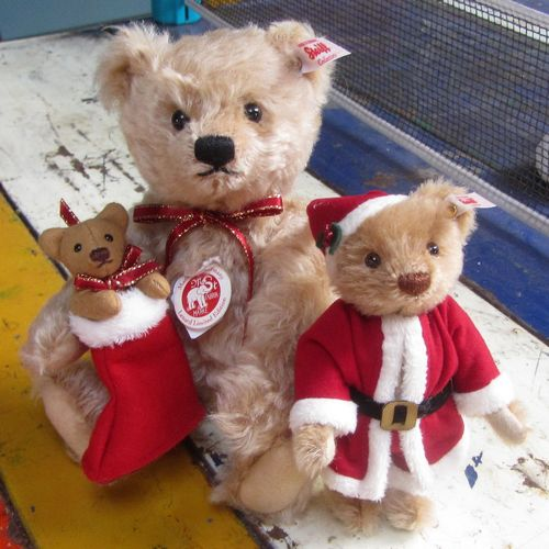morpeth teddy bears hunter valley Steiff mohair xmas teddy