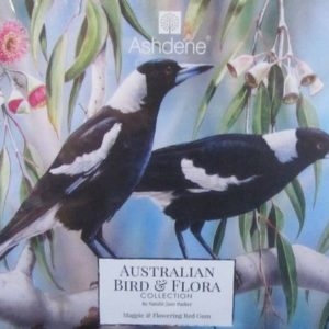 Jigsaw Puzzle Magpie & Flowering Red Gum – Natalie Jane Parker