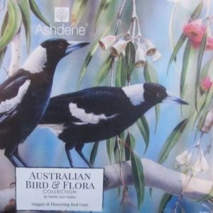 Magpie & Flowering Red Gum – Natalie Jane Parker