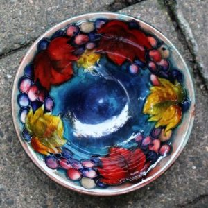 Moorcroft Leaf & Berry Bowl