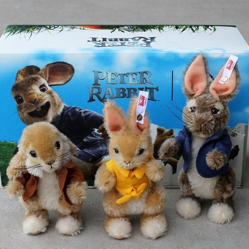 Morpeth Teddy Bears Steiff limited edition Hunter Valley Australia Peter Rabbit trio