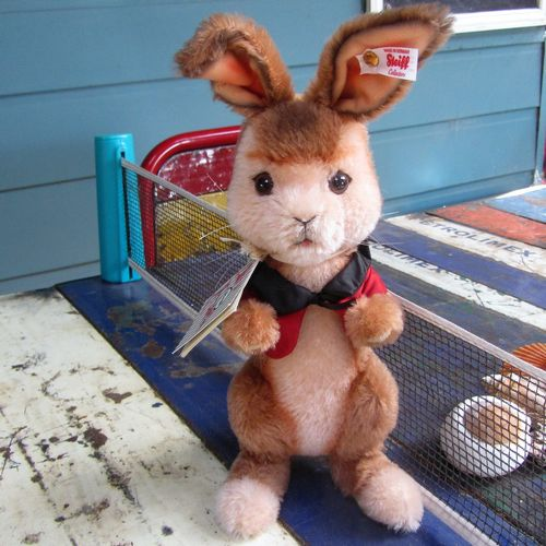 morpeth teddy bears hunter valley Steiff mohair rabbit boy