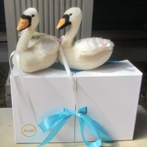 Pair of Wedding Swans