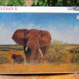 Jigsaw Puzzle – African Elephant