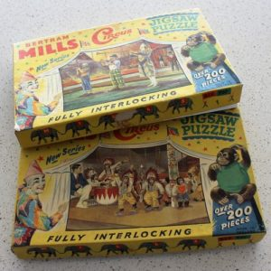 Bertram Mills Jigsaw Puzzle – Musical Clowns (5 missing pieces)