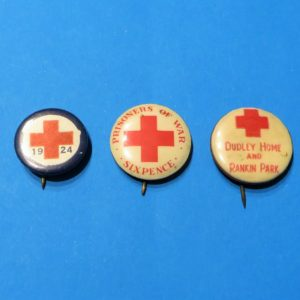 Australian Red Cross Badge Trio – Newcastle