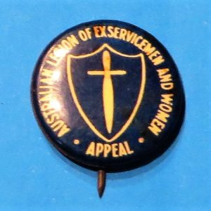 Australian Ex Servicemen & Women Badge