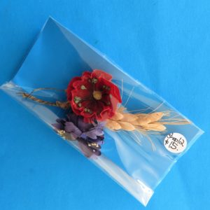 German Charity Poppy & Cornflower Sprig