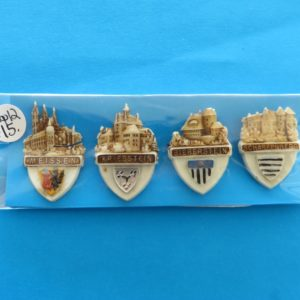 German Charity Badge Set – Castles