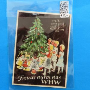 German Charity Relief Paper/Sticker – December