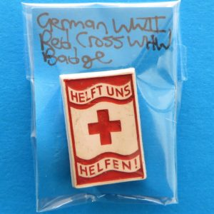 morpeth antique centre hunter valley third reich german world war two winter charity relief badge pin baltic amber red cross help us help propaganda WHW