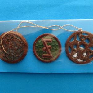German Charity Relief Trio – Heraldic Runes