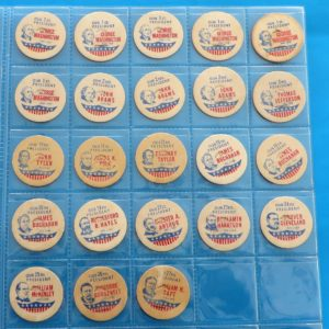 Milk Bottle Caps – American Presidents