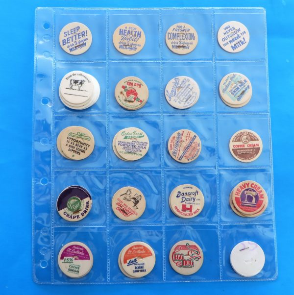 morpeth antique centre hunter valley milk bottle cap top american australian POG Pogs children's game dairy glass collectable