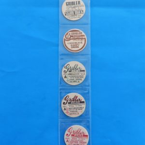 Gribler Dairy Milk Bottle Caps