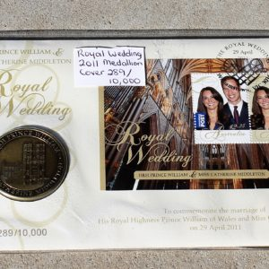 Royal Wedding 2011 Medallion