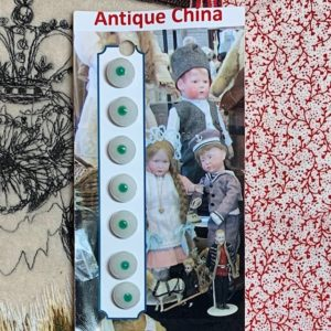 China Antique Buttons x 7