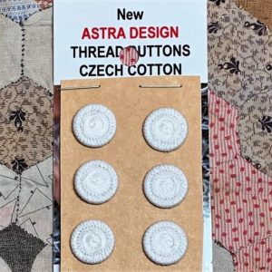 Thread Buttons – New x 6