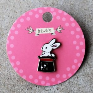 Erstwilder Pin – Out of a Hat (Rabbit)