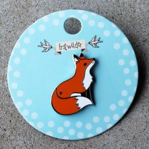 Erstwilder Pin – Furtive Fox